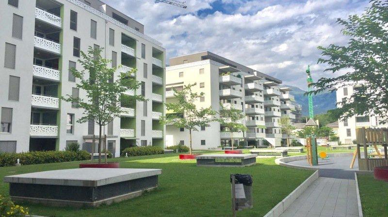 Les pros de l'immobilier cherchent des solutions pour remplir les appartements. Ici le complexe de la Matze dont la régie Le Comptoir Immobilier offre le déménagement. C'est un signe qui montre la saturation du marché.