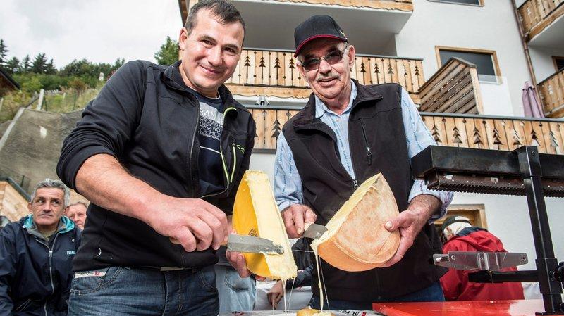 Deux fromages d'alpage récompensés