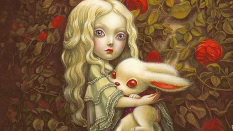 Benjamin Lacombe a notamment signé l'affiche de l'exposition Alice au Pays des Merveilles à Saint-Maurice.
