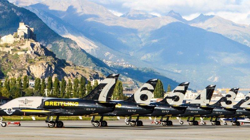 Quel avenir pour l'Airshow de Sion si Breitling se désengage de l'aviation?