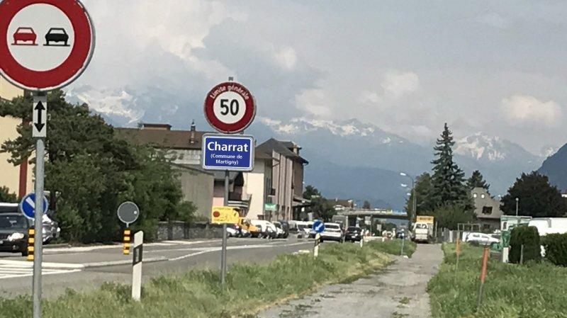 En cas de confirmation de la fusion par la population, le 4 mars prochain, la nouvelle commune s'appellera Martigny mais le nom de Charrat, qui en sera un des villages-quartiers, existera toujours.