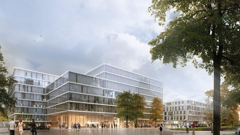 Le projet prévoit des logements, un hôtel, des surfaces commerciales et une salle de congrès-spectacle.