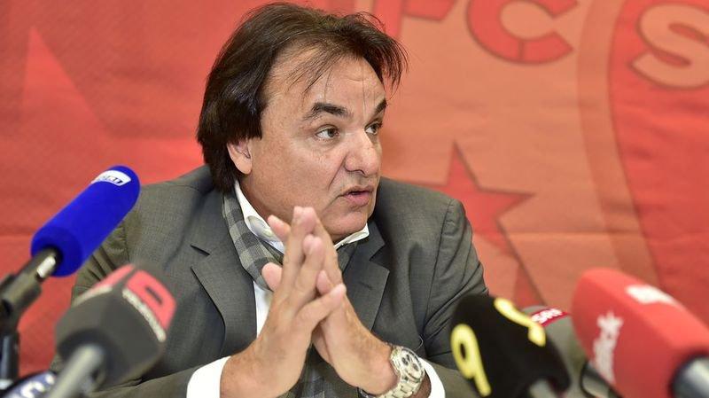 Christian Constantin s'est expliqué devant la presse.