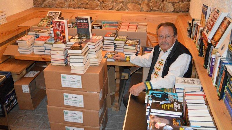 Norbert Jost a ouvert sa bibliothèque privée en 2002.
