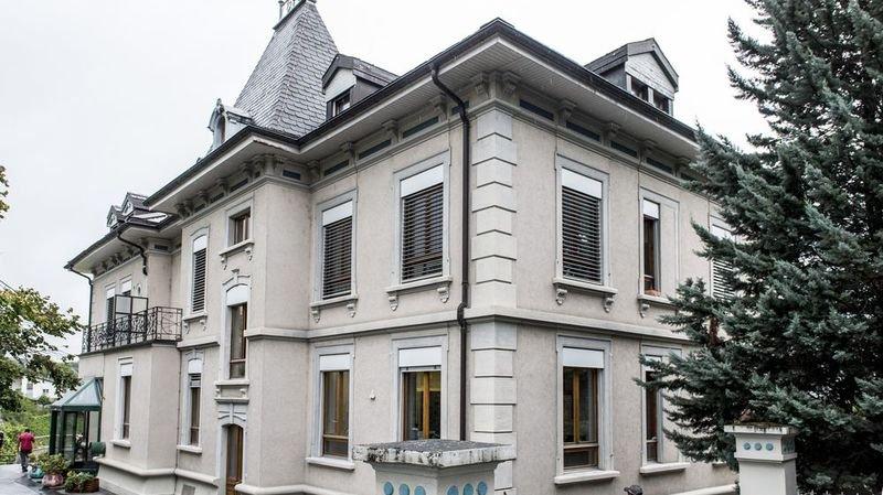 Parmi les établissements d'Addiction Valais, la Villa Flora à Sierre.