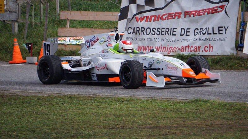 Automobilisme: le Valaisan Joël Grand remporte sa première course de côte