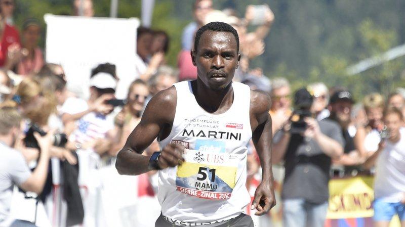 Petro Mamu avait terminé quatrième de Sierre-Zinal en août dernier.