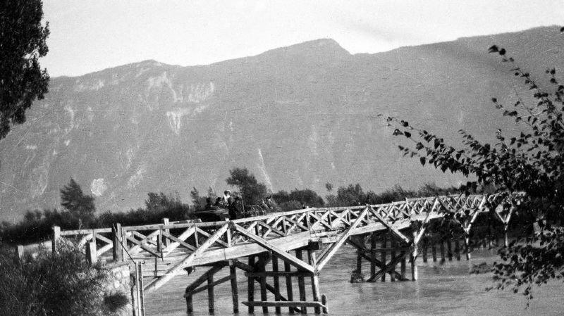 Le pont de Branson était jadis l'un des points de friction entre les gens de l'Entremont et de Fully.