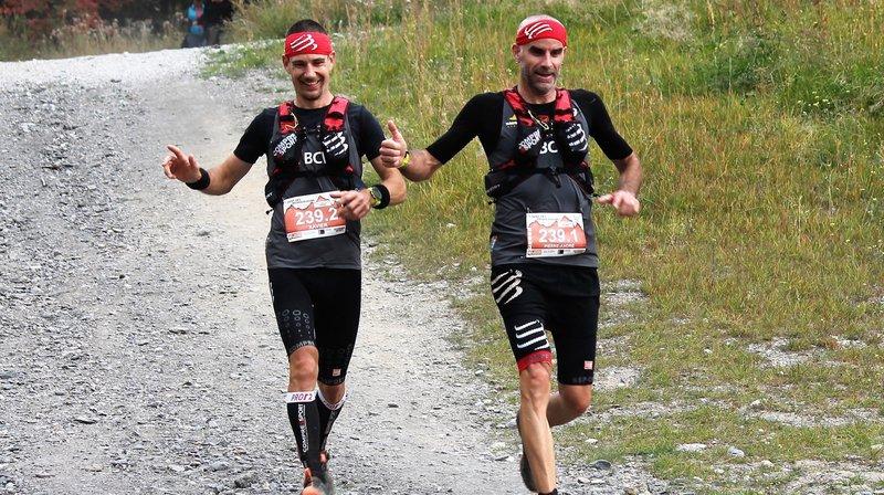 Xavier Moulin et Pierre-André Ramuz s'imposent sur le parcours du Grand Bonvin