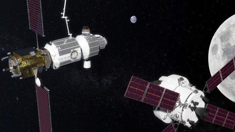 La NASA et les Russes veulent mettre des hommes en orbite autour de la Lune à l'horizon 2031.