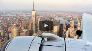 Sion Airshow: Manhattan comme personne ne l'a jamais vue... On vous emmène à bord du Breitling DC-3