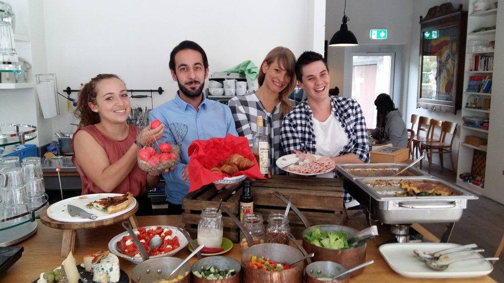 L'équipe du Café du 1er Août a trouvé les bons ingrédients pour être classée dans le top 10.
