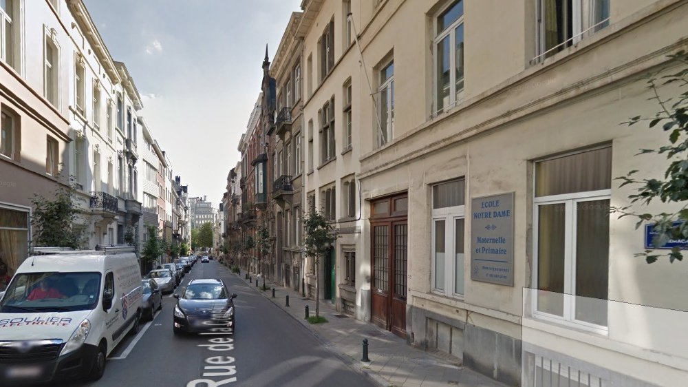 C'est dans le dortoir de l'internat de la Fraternité, dans cette rue de Bruxelles, que les abus auraient été commis par le Valaisan.
