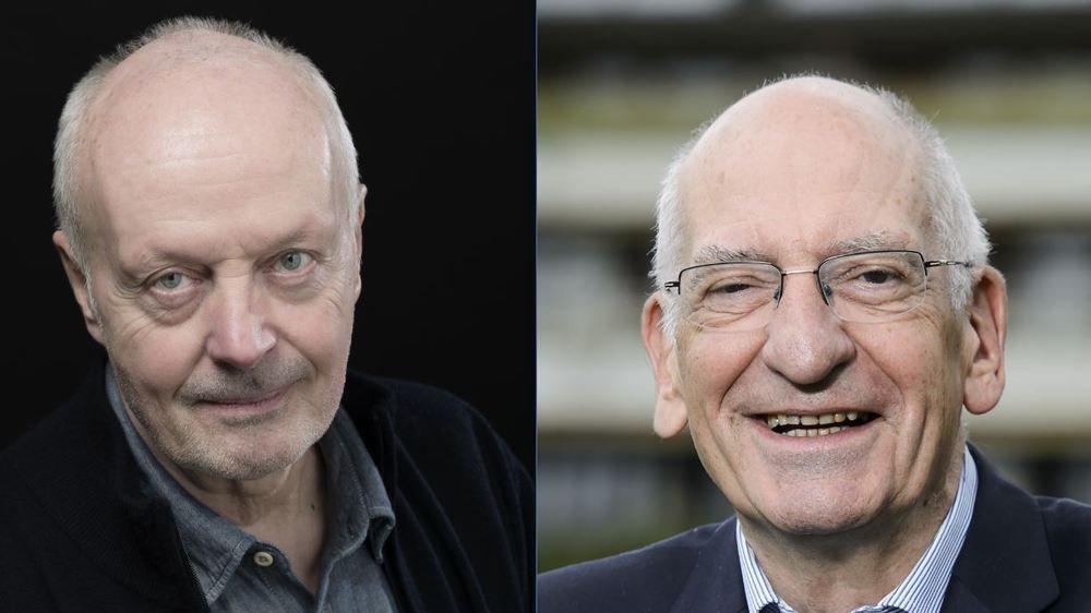 Christophe Gallaz et Pascal Couchepin