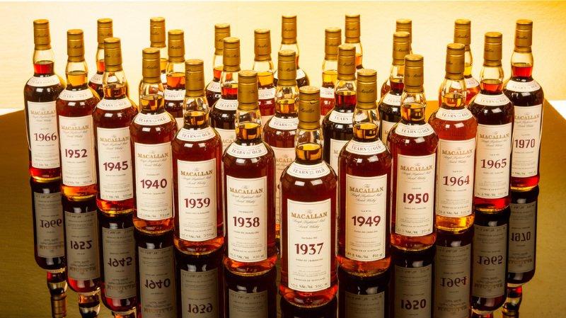 Le whisky à 10'000 francs la gorgée n'avait qu'une quarantaine d'années.