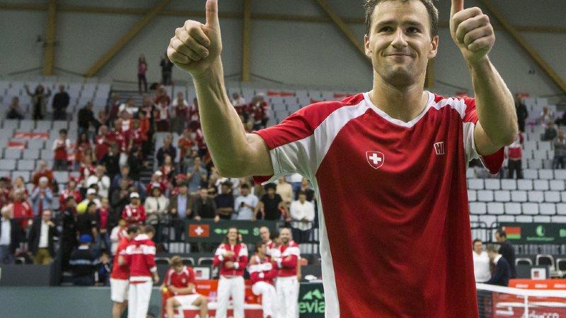 Tennis: le Suisse Marco Chiudinelli mettra fin à sa carrière après les Swiss Indoors à Bâle