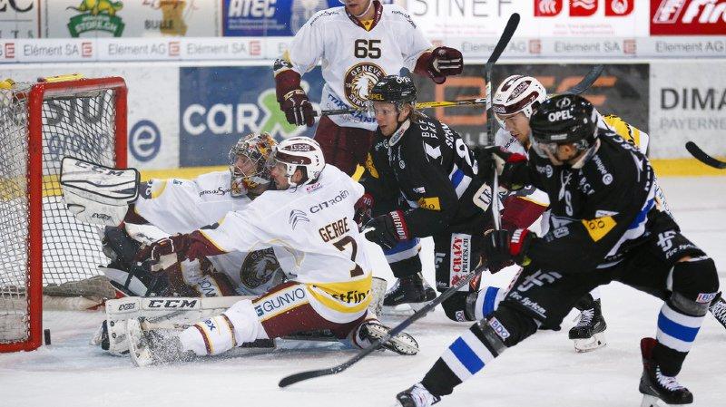 Hockey: Fribourg Gottéron domine largement Genève Servette en National League