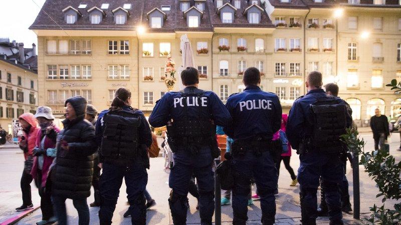 Les débordements attendus n'ont pas eu lieu, seuls des contrôles d'identité ont été effectués par les forces de l'ordre.