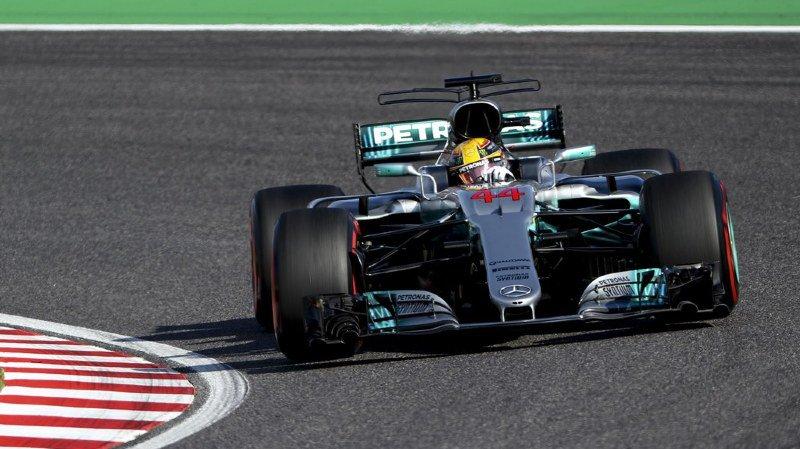 Formule 1: Lewis Hamilton remporte le GP du Japon et se rapproche d'un 4e sacre