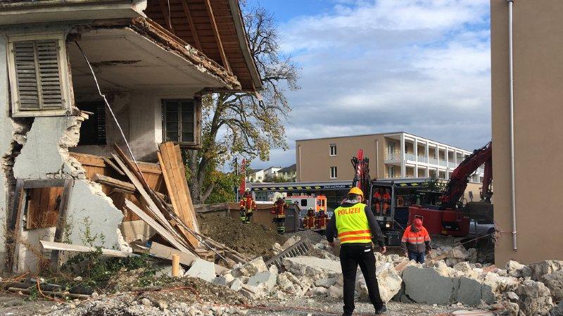 Thurgovie: une maison en chantier s'écroule à Frauenfeld, un ouvrier perd la vie