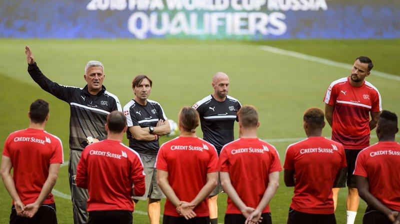 La Suisse est l'équipe la mieux classée à la FIFA des huit engagées dans les barrages.