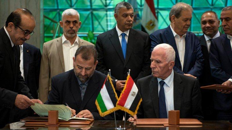 L'accord historique a été signé ce jeudi au Caire.