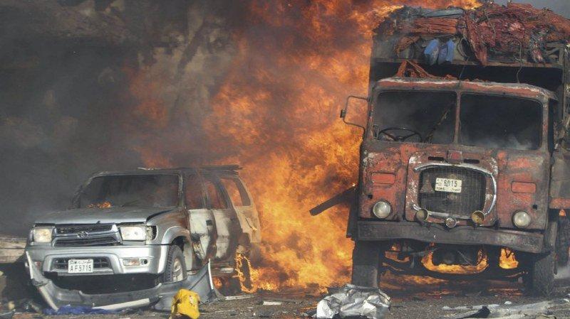 Somalie: au moins 137 morts et 250 blessés dans un double attentat à Mogadiscio