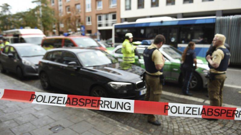 Attaque au couteau à Munich: la police allemande écarte la piste terroriste