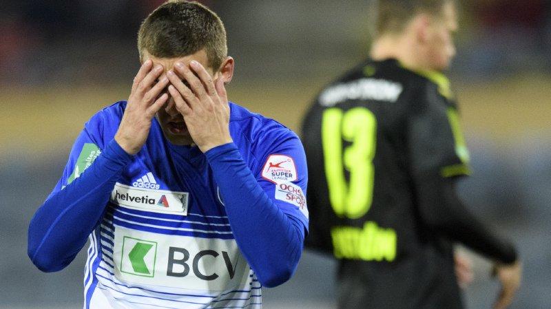 Football: Lausanne-Sport éliminé en 8es de finale de la Coupe de Suisse