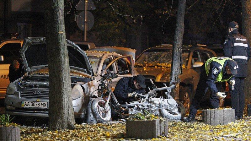 Ukraine: une explosion à Kiev fait un mort et trois blessés, dont un député radical