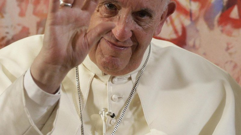 Religion: le pape François admet parfois s'endormir en priant