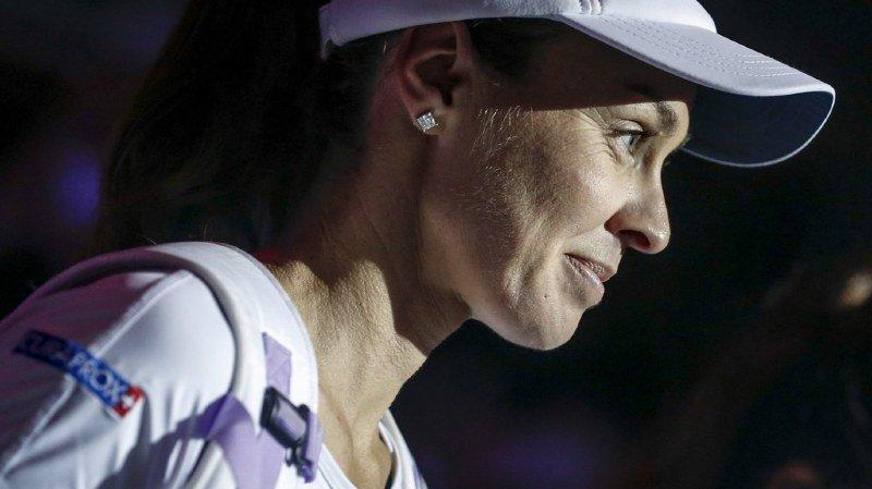 Tennis: Martina Hingis termine sa carrière sur une défaite en demi-finale du double à Singapour