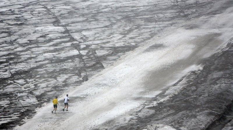 Le glacier de Tsanfleuron, dans le Valais central, est celui qui a le plus souffert en 2017.