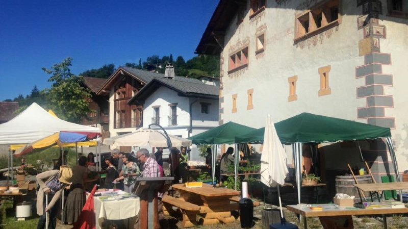 Le marché automnal se déroulera dimanche devant le musée.