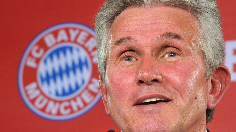 Jupp Heynckes était l'entraîneur du Bayern Munich il y a quatre ans.