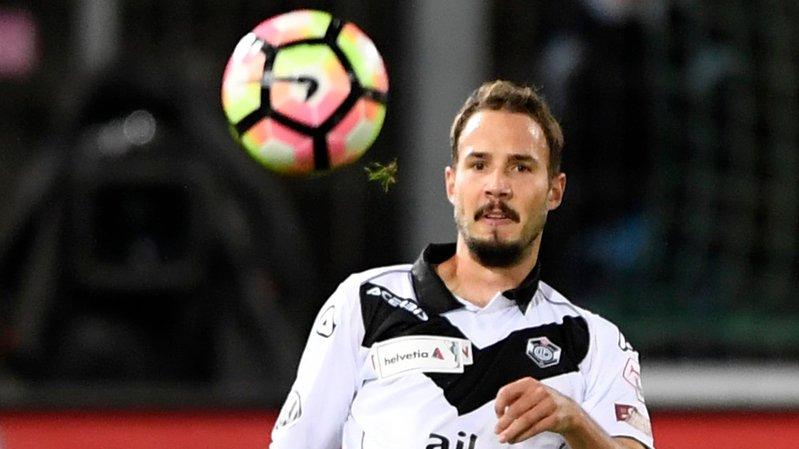 Steve Rouiller quitte Lugano où il a passé deux ans.