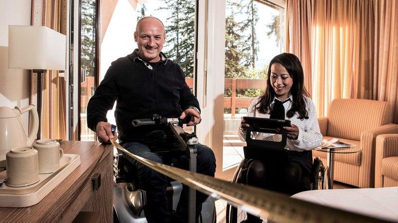 Handicap: l'accessibilité de centaines de points d'intérêts du Valais répertoriée sur les sites des offices du tourisme