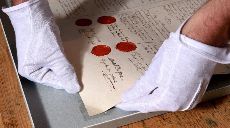 Sion: les archives de l'Etat du Valais ouvrent leurs portes au public samedi