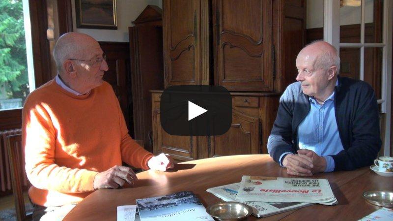 Festival Lettres de Soie à Mase: Pascal Couchepin et Christophe Gallaz font le bilan de deux mois de correspondance