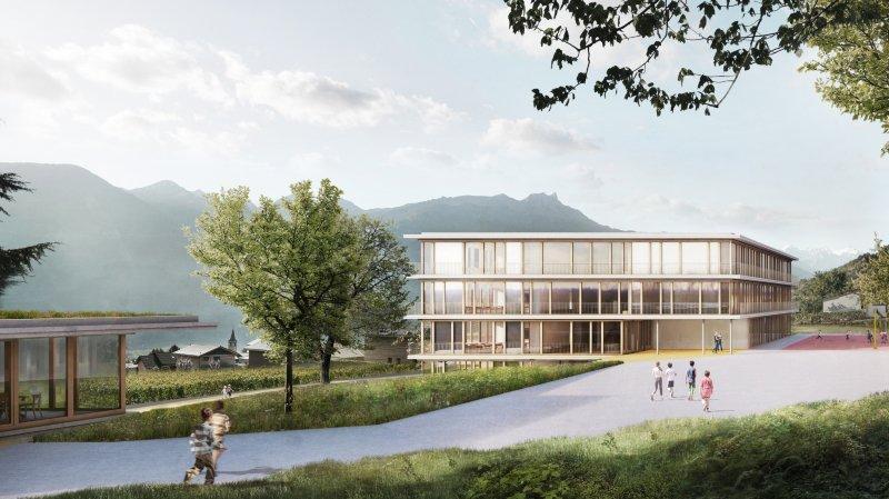 Chamoson: les citoyens disent oui à 17 millions pour la construction d'une école