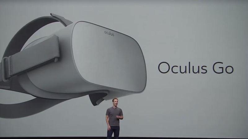 L'Oculus Go n'a plus besoin d'être branché sur un ordinateur ou un téléphone portable.