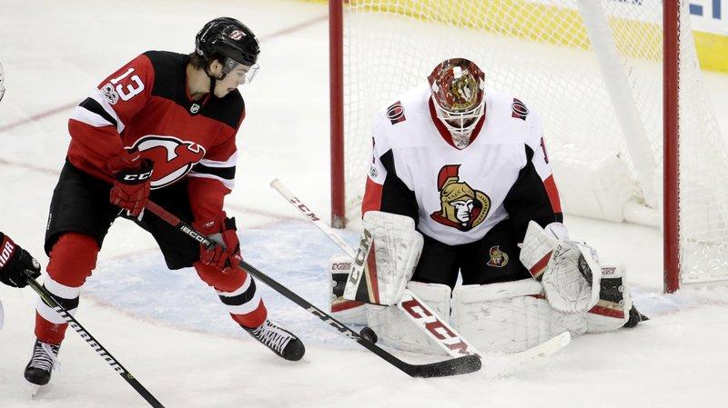 Hockey sur glace: le Valaisan Nico Hischier a validé cette nuit son ticket pour la NHL