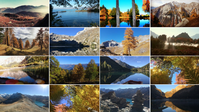 Lumières d'automne en Valais: trois photos primées
