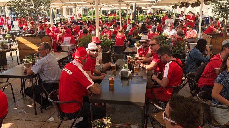 Football: les supporters valaisans présents à Lisbonne pour Portugal-Suisse croient aux chances de la Nati