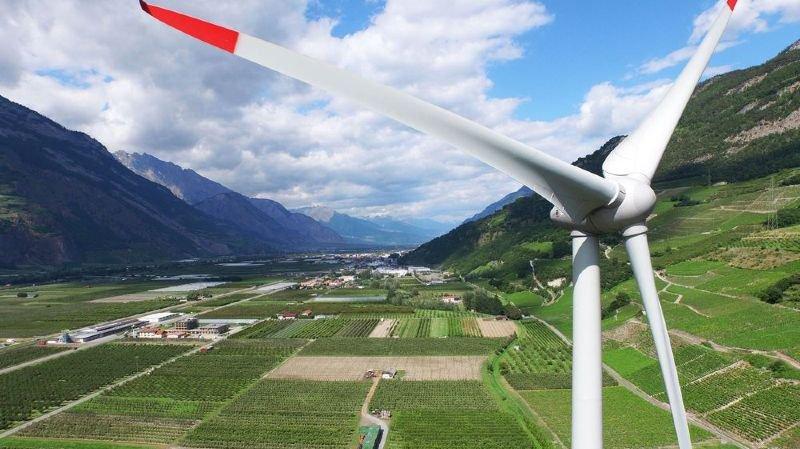 Le parc éolien de Charrat homologué par le Conseil d'Etat