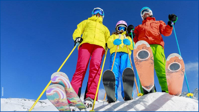 Forfaits journaliers de ski -  saison 2017/2018