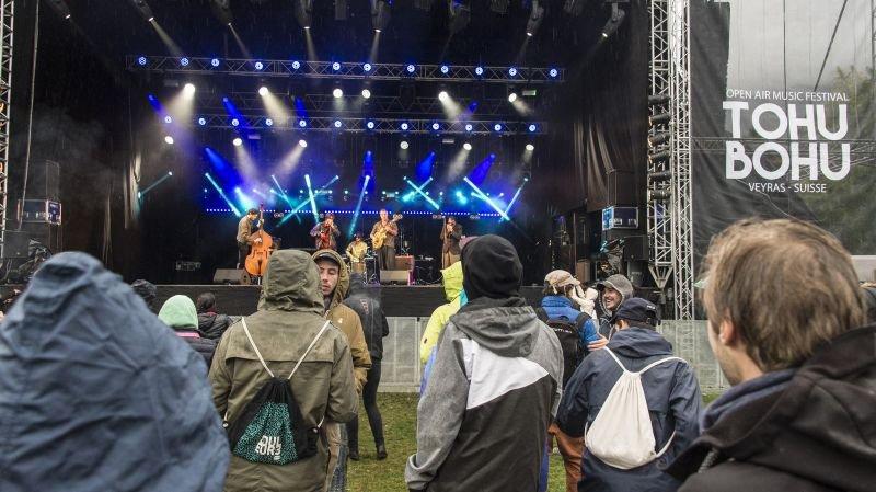 Les Coconut Kings en début de soirée sur la scène du Tohu-Bohu, le samedi 9 septembre 2017.