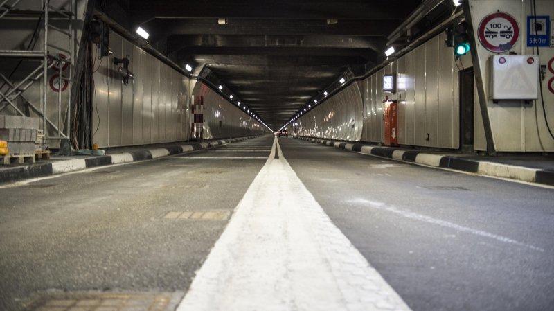 Le tunnel du Grand-Saint-Bernard restera fermé au moins jusqu'au 30 novembre prochain.
