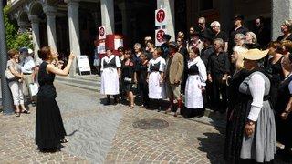 Le Valais et Rome rendent hommage  à un grand compositeur valaisan