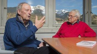 Valais: Bernard Crettaz s'associe à Jean-Pierre Fragnière pour regarder la mort en face